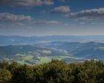 Pohled z rozhledny na Velkém Lopeníku