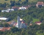 Pohled na kostel na Březové