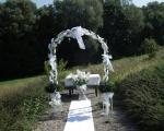 Romantická atmosféra činí svatební den nezapomenutelným